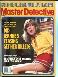 MASTER DETECTIVE-DECEMBER 1981-FN-SPICY-MURDER-RAPE-KIDNAP-MASSACRE FN