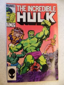 INCREDIBLE HULK # 314