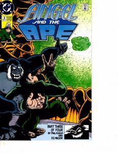 Lot Of 2 DC Comic Angel and the Ape #3 and Ambush Bug #1  Superman ON13