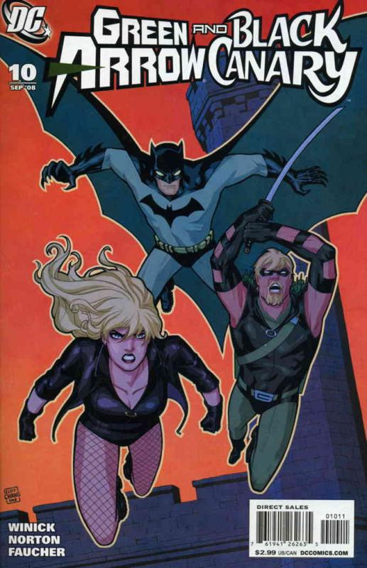 Green Arrow/Black Canary #10 VF/NM; DC | combined shipping available - details i
