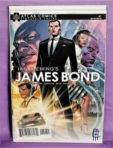 Jim Cheung Ian Fleming's JAMES BOND #1 Atlas Comics Signature (Dynamite, 2019)!