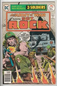 Our Army at War #299 (Dec-76) VG Affordable-Grade Easy Company, Sgt. Rock