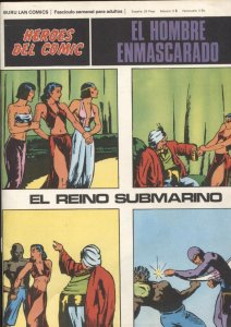 Hombre Enmascarado/Phantom de Burulan SOLO CUBIERTA nº 04: El reino submarino