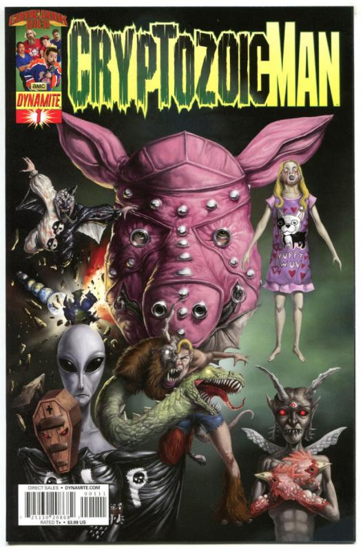 CRYPTOZOIC MAN #1 2 3 4, VF/NM, Decapitation, Dynamite, 2013, Horror, 1-4 set