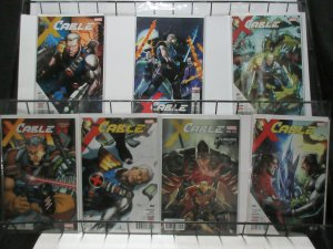 Cable (Marvel 2017) #1-5 Lot Robinson + Pacheco Time-travel X-Men Adventures!
