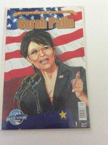 Female Force Sarah Palin Gold Foil Edition Signed by Sarah Palin Ltd 350 Copies