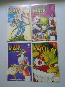The Mask Returns set #1-4 8.0 VF (1992 Dark Horse)