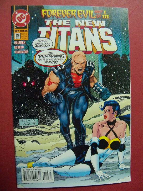 THE NEW TITANS  #119 VF/NM OR BETTER DC COMICS