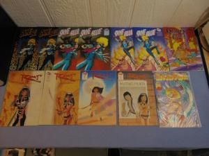 12 MU Press Indie Independent Comic Books Skye Blue Beauty of the Beasts Rhaj