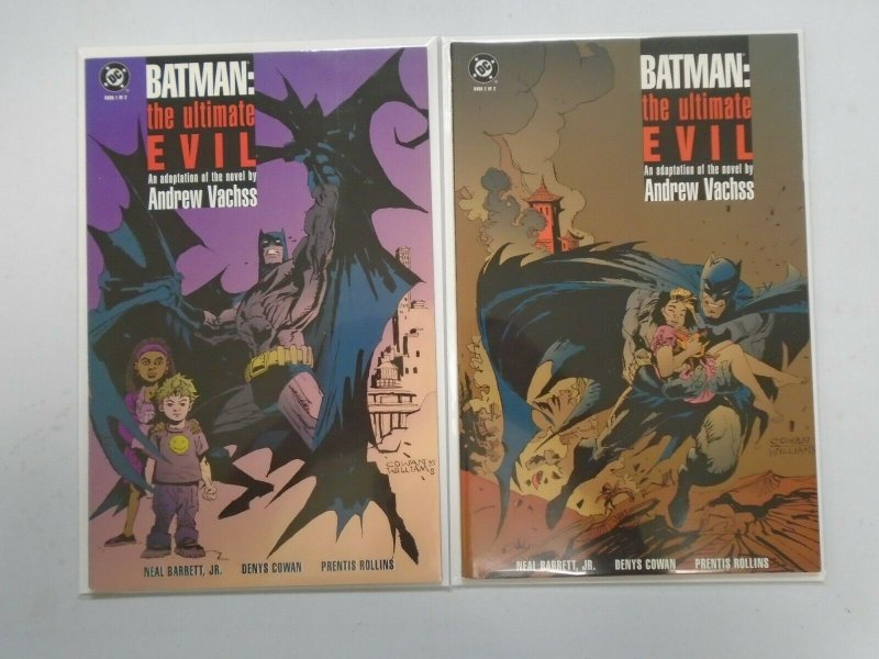 Batman the Ultimate Evil set #1+2 8.0 VF (1995)