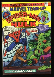 Marvel Team-up #27 NM- 9.2