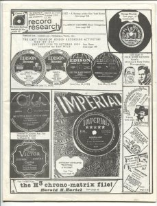 Record Research 10/1985-reference-info-buy / sell ads-collectors-historians-m...