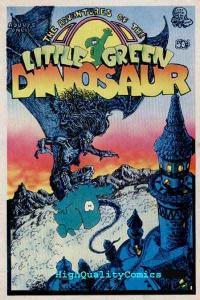 LITTLE GREEN DINOSAUR #1, FN to FN+, Underground, Last Gasp, 1st, 1972