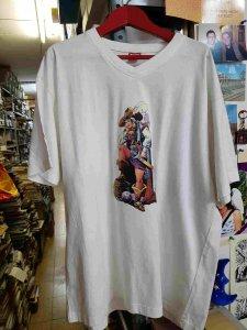 Camiseta blanca de La Capitana, por Matias Alonso. Talla XXL