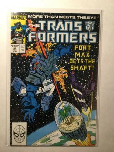 Transformers 39 Near Mint Nm Marvel