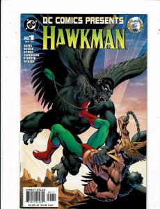 7 Hawkman DC Comics Presents # 1 Special Secret Files Origins + #0 13 16 10 J212