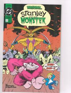 Stanley and His Monster (1993) #4 DC Comic Book Final Issue Trip to Hell HH2