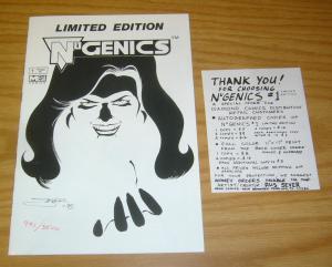 NuGenics #1 VF/NM limited edition (#991 of 3500) mega comics - rus sever 1995