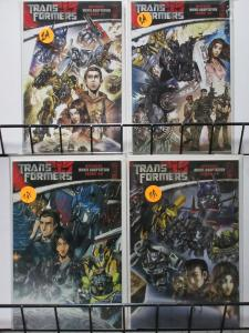 TRANSFORMERS MOVIE ADAPTATION (IDW,2007) #1-4 VF-NM COMPLETE Comics in Disguise!
