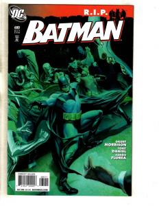 7 Batman DC Comic Books # 680 681 682 683 684 686 700 Robin Joker Gotham Ivy CJ2