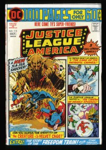 Justice League Of America #113 VF 8.0 DC Comics