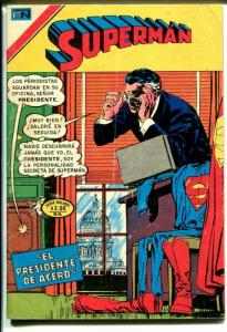 Superman #1-18 1976-Mexican issue-3 3/4 X 5 1/2-US Capitol Building-G/VG