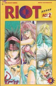 Riot, Act 2 #4 VF/NM; Viz | save on shipping - details inside