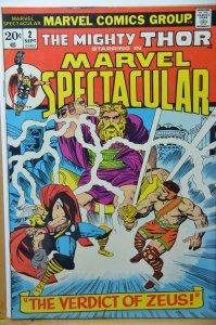 Marvel Spectacular #2 (1973) VF+ Solid copy.