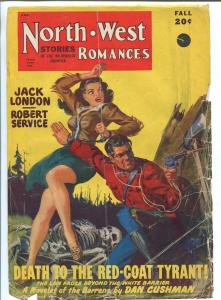 NORTH WEST ROMANCES SEPT-RCMP MOUNTIE-JACK LONDON-PULP ACTION-FR