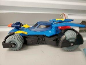 2015 Imaginext DC Super Friends Transforming Batmobile Mattel PREOWNED