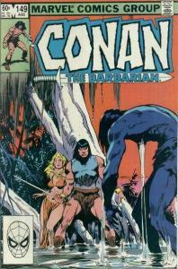 Conan the Barbarian (1970 series) #149, VF (Stock photo)