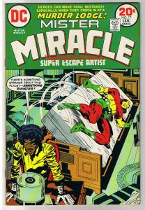 MISTER MIRACLE #17, VF, Jack Kirby, 4th World, 1971,more JK in store,Bronze age