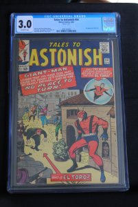 Tales to Astonish, #54, CGC 3.0, Giant-man and The Wasp.