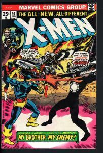 X-MEN #97-HAVOK CYCLOPS-HIGH GRADE-VF