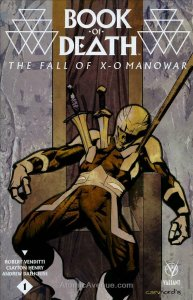 Book of Death: Fall of X-O Manowar #1A VF/NM; Valiant   save on shipping - detai