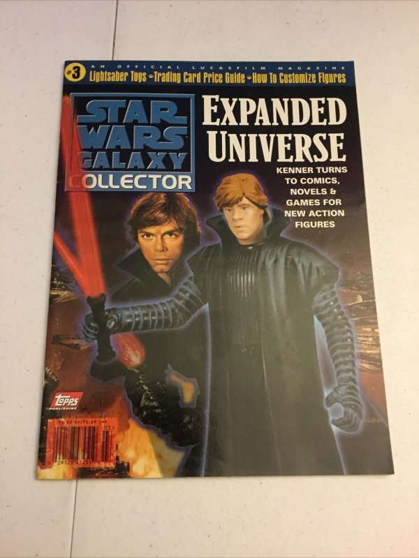 Star Wars Galaxy Collector 3 Nm Near Mint Expanded Universe Magazine