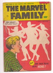 Marvel Family #89 (Scarcer Last Issue)