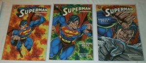 Superman/Doomsday: Hunter/Prey (2005) #1-3 (complete set) Jurgens