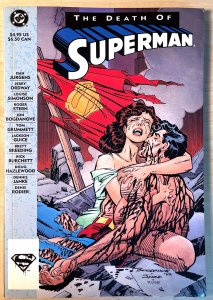 The Death of Superman #1 (1993)