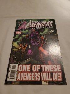 Avengers 502 Near Mint- Cover by David Finch