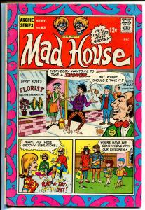 Archie's Mad House #63-1968-Sabrina-hippie cover-VG+