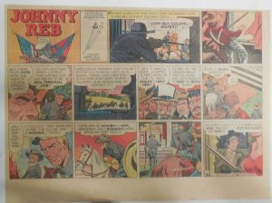 Johnny Reb Sunday by Frank Giacoia & Jack Kirby from 1/11/1959 Half Page Size!