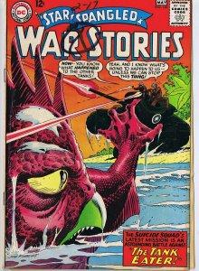 Star Spangled War Stories #120 ORIGINAL Vintage 1965 DC Comics 1st Caveboy Dino