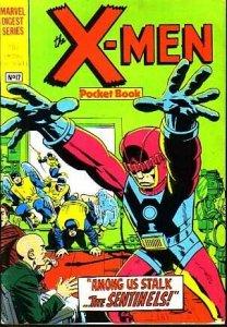 MARVEL DIGEST SERIES-THE X-MEN POCKEBOOK #17-STAN LEE