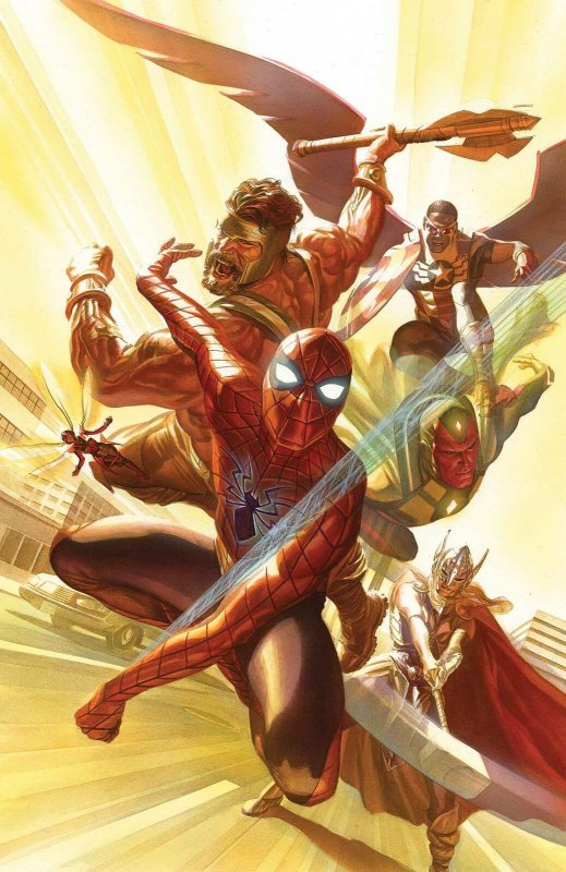 Avengers #4 Poster by Alex Ross (24 x 36) Rolled/New!