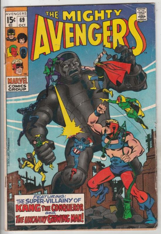 Avengers, The #69 (Oct-69) VG/FN Mid-Grade Avengers