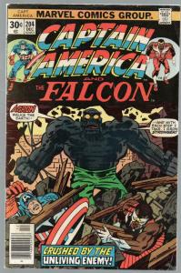 CAPTAIN AMERICA 204 VG  Dec. 1976