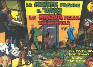 Radio Pattuglia numerado 17/18 a boligrafo en laterial superior izquierdo