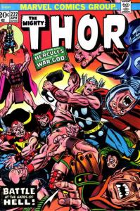 Thor #222 VG; Marvel | low grade comic - save on shipping - details inside