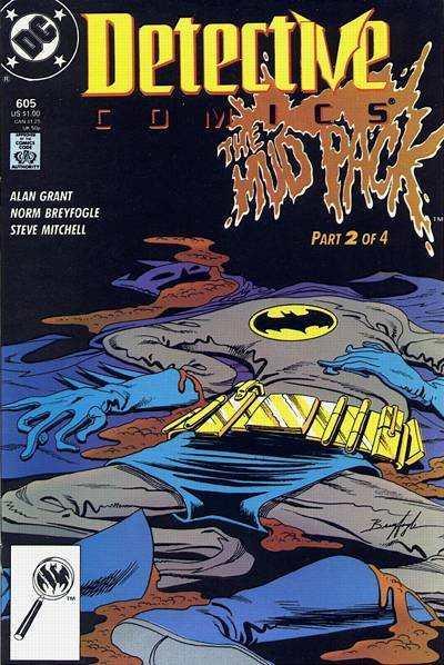 Detective Comics (1937 series) #605, VF+ (Stock photo)